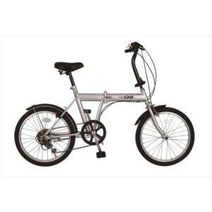 自転車 折畳 20インチ 6段ギア ノーパンク ACTIVE911 FDB206S ミムゴ MG-G206N