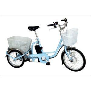 自転車 20インチ 電動アシスト三輪自転車 アシらくチャーリー ミムゴ MG-TRM20EB